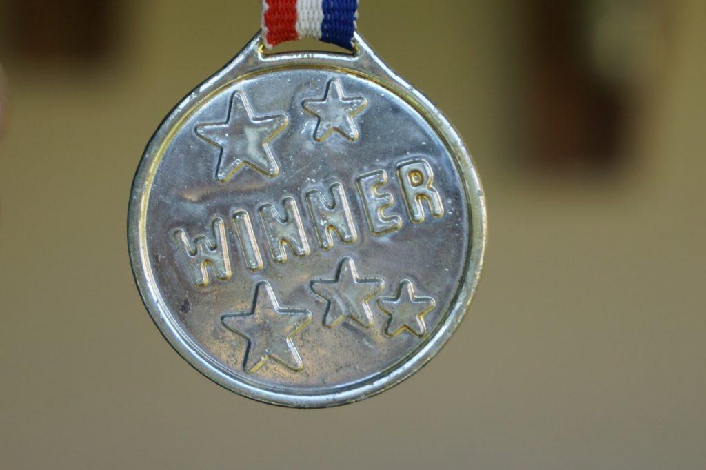 medaglia vincitore